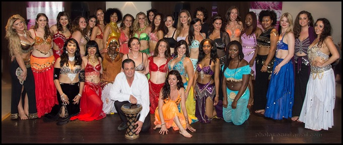 bellydance students