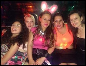 claudia hen night of fun