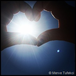Merve's lovely hands healing us