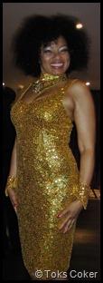 Toks Coker the Golden Goddess