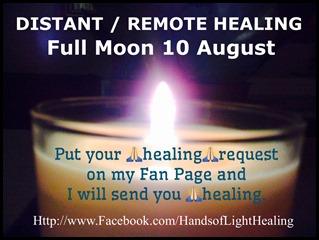 Full Moon 10 August