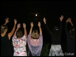 full moon Kate Anee Sue Shannon Sophia
