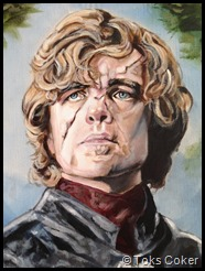 Game of Thrones Tyrion Lannister played by Peter Dinklage