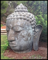 Budha left