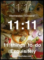 11 things to do exquisitely