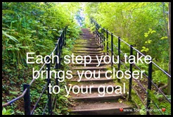 steps to goal
