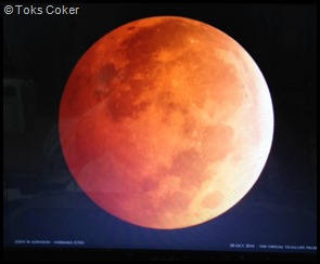 total lunar eclipse 2014 full moon in aries HUNTERS MOON