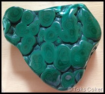 malachite for shedding layers