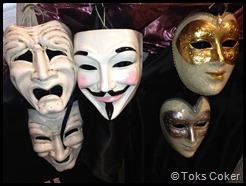 masks of pretence