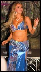Maia Bellydance in blue