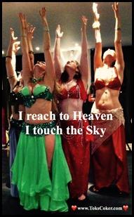 I reach to heaven