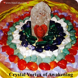 Crystal Vortex of Awakening