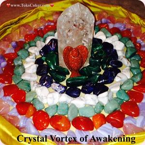 Crystal Vortex of Awakening