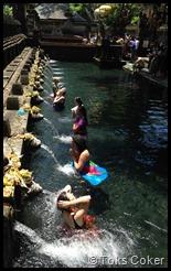 Bathing in Water