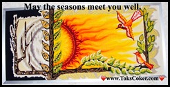 may the seasons greet you well