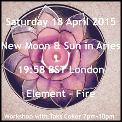 New Moon in Aries 2015
