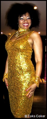 Toks Coker the Golden Goddess