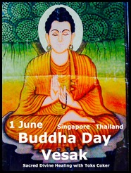 1 June Buddha Day Singapore