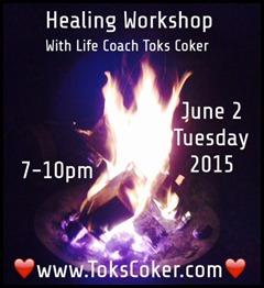 full moon healing workshop