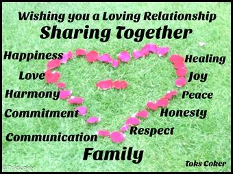 sharing family