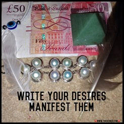 write your desires