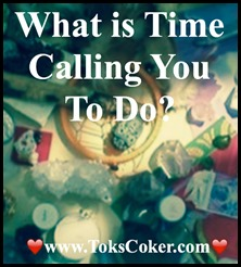 What is time calling you to do