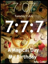 7 7 7 a magical day