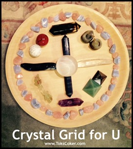 Crystal Grid for U