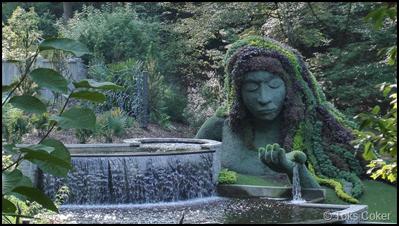 Mother Earth Water Fountain of Life and Youth