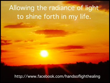 Radiance of Light