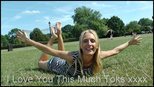 Toks I love you this much xxx