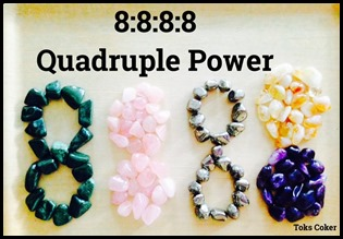 8888 quardruple power