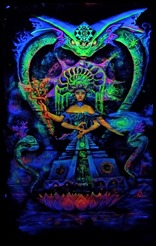 Awakening of Kundalini Goddess