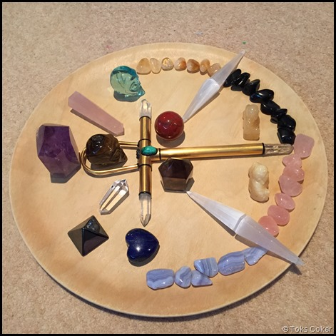 crystal grid matrix radiates from mother earth