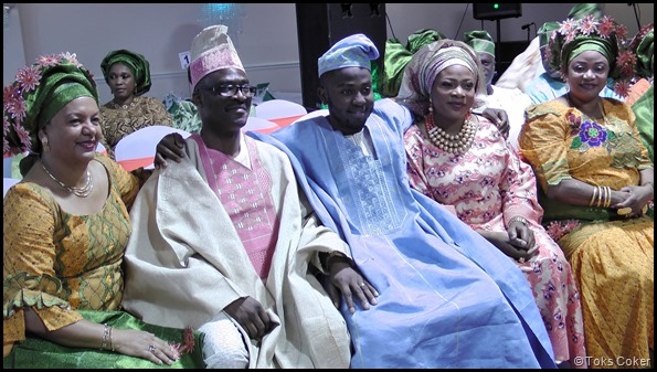 groom with new inlaws