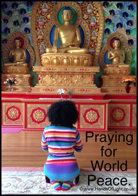 praying for world peace
