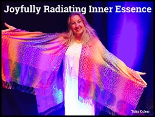 radiating inner essence