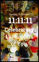 Celebrating 11 Wonders of You