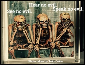 see hear speak no evil