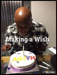 making a wish