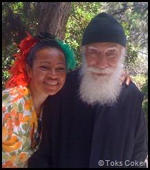 Monk in Greece