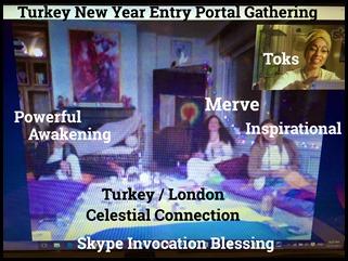 Turkey New Year Portal