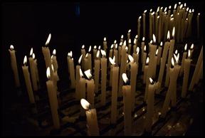 candle gathering