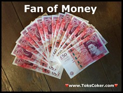 fan of money
