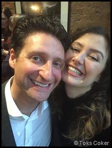 Joel Van der Molen and Giorgia Andriani