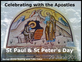 St Pauls & St Peters Day
